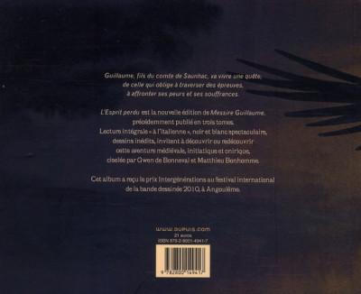 Dos Messire Guillaume ; l'esprit perdu ; intégrale