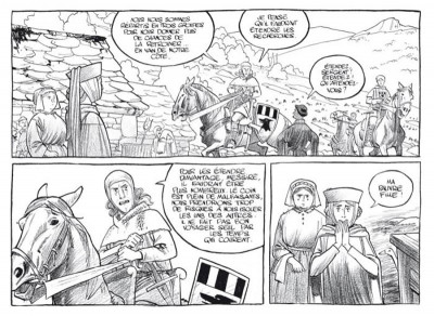 Page 3 Messire Guillaume ; l'esprit perdu ; intégrale