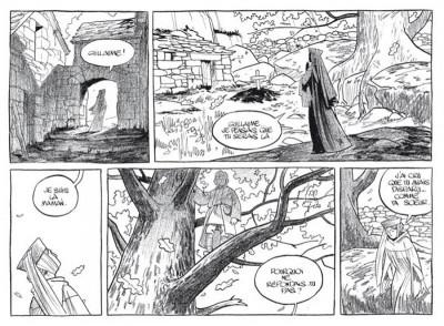 Page 5 Messire Guillaume ; l'esprit perdu ; intégrale