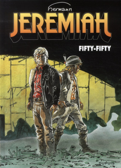 Couverture Jeremiah T.30 - fifty-fifty