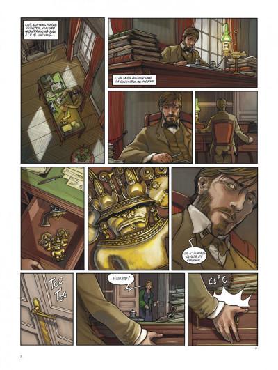 Page 4 L'héritage des Taïronas tome 1 - monde nouveau