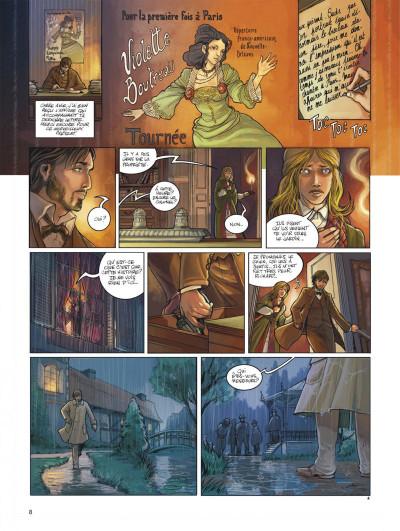 Page 8 L'héritage des Taïronas tome 1 - monde nouveau