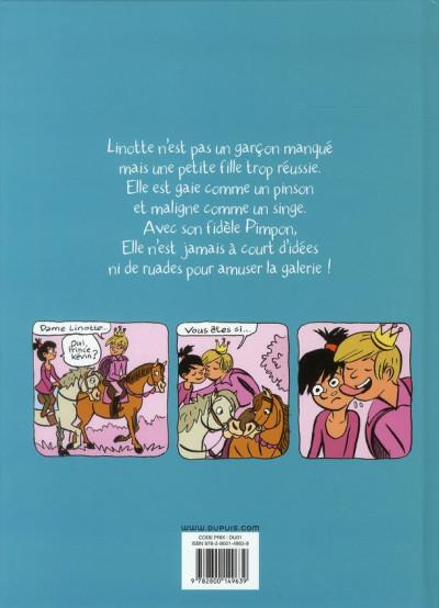 Dos top Linotte tome 2 - trop pimpon !