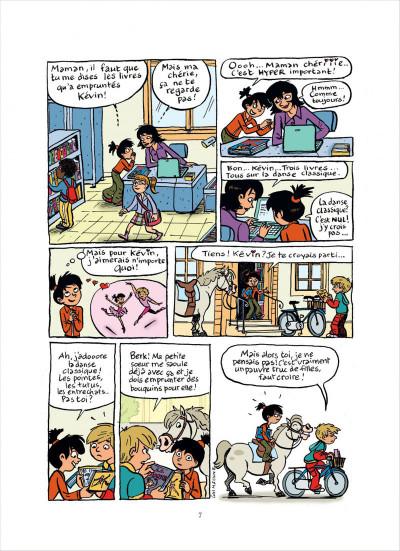 Page 7 top Linotte tome 2 - trop pimpon !
