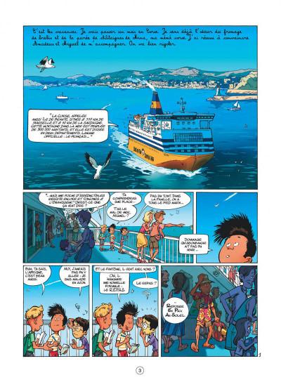 Page 3 mon pépé est un fantôme tome 4