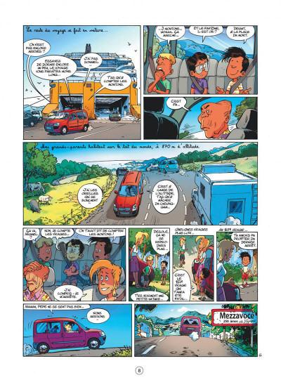 Page 8 mon pépé est un fantôme tome 4