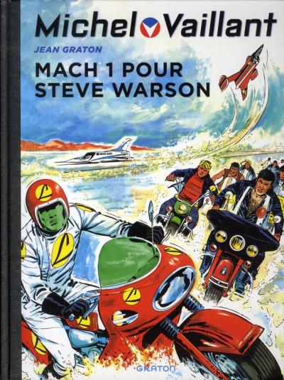 Couverture Michel Vaillant tome 14 - mach 1 pour Steve Warson