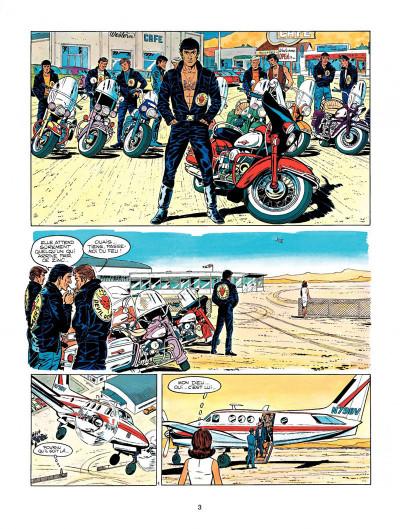 Page 1 Michel Vaillant tome 14 - mach 1 pour Steve Warson