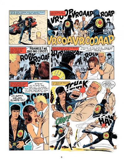 Page 4 Michel Vaillant tome 14 - mach 1 pour Steve Warson