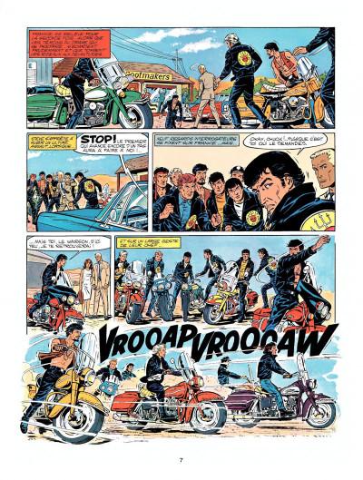 Page 5 Michel Vaillant tome 14 - mach 1 pour Steve Warson