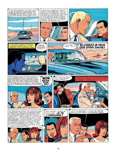 Page 7 Michel Vaillant tome 14 - mach 1 pour Steve Warson