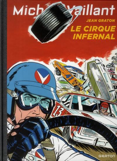 Couverture Michel Vaillant tome 15 - le cirque infernal