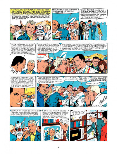 Page 2 Michel Vaillant tome 15 - le cirque infernal
