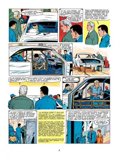 Page 4 Michel Vaillant tome 15 - le cirque infernal