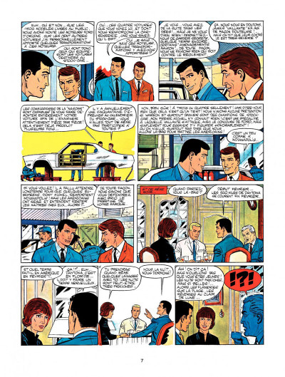 Page 5 Michel Vaillant tome 15 - le cirque infernal
