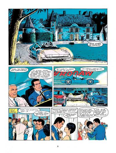 Page 7 Michel Vaillant tome 15 - le cirque infernal