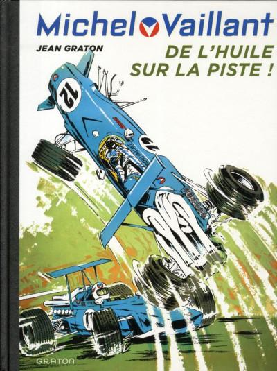 Couverture Michel Vaillant tome 18 - de l'huile sur la piste