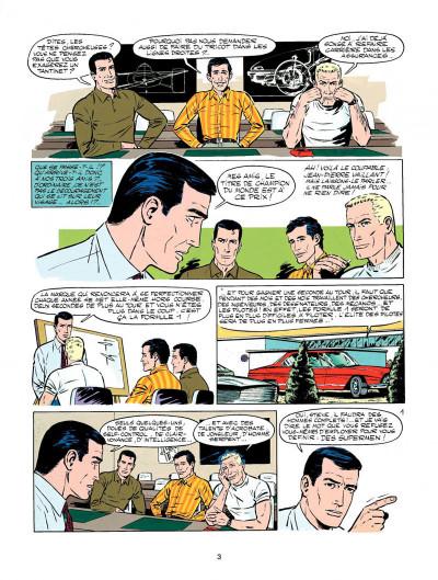 Page 1 Michel Vaillant tome 18 - de l'huile sur la piste