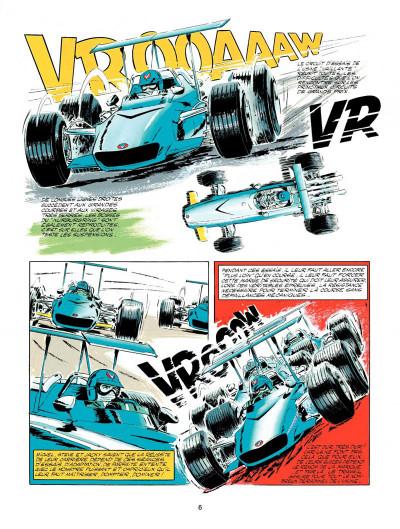 Page 4 Michel Vaillant tome 18 - de l'huile sur la piste