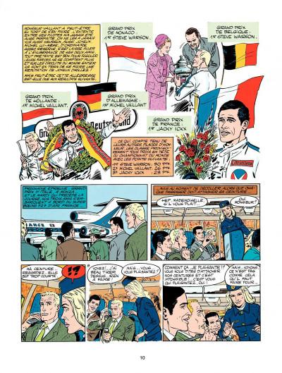 Page 8 Michel Vaillant tome 18 - de l'huile sur la piste