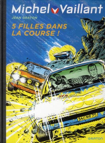 Couverture Michel Vaillant tome 19 - 5 filles dans la course