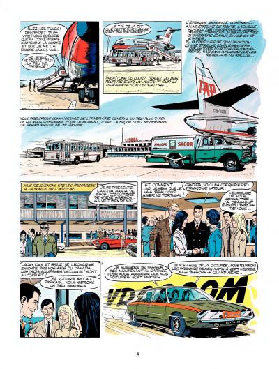 Page 2 Michel Vaillant tome 19 - 5 filles dans la course
