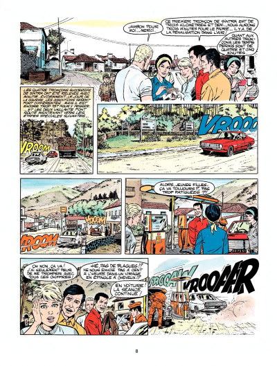 Page 6 Michel Vaillant tome 19 - 5 filles dans la course