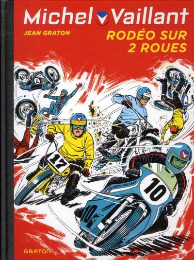 Couverture Michel Vaillant tome 20 - rodéo sur 2 roues