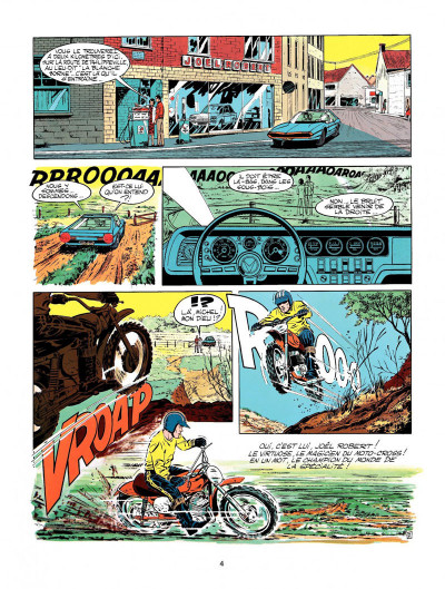 Page 2 Michel Vaillant tome 20 - rodéo sur 2 roues
