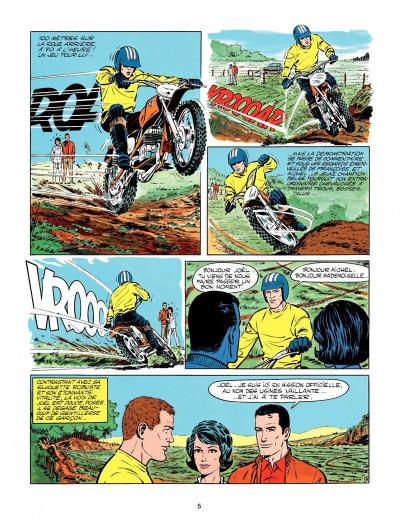 Page 3 Michel Vaillant tome 20 - rodéo sur 2 roues