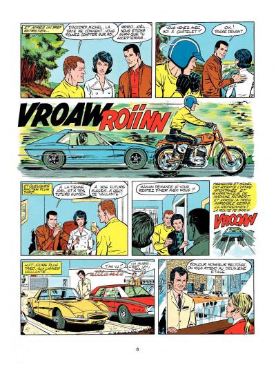 Page 4 Michel Vaillant tome 20 - rodéo sur 2 roues