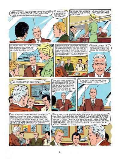 Page 6 Michel Vaillant tome 20 - rodéo sur 2 roues