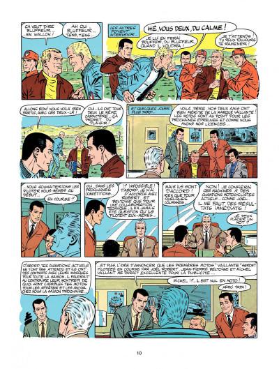 Page 8 Michel Vaillant tome 20 - rodéo sur 2 roues