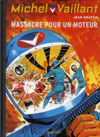 Couverture Michel Vaillant tome 21 - massacre pour un moteur