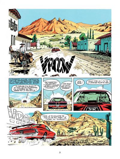 Page 1 Michel Vaillant tome 21 - massacre pour un moteur