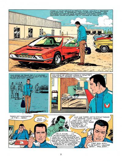 Page 1 Michel Vaillant tome 22 - rush