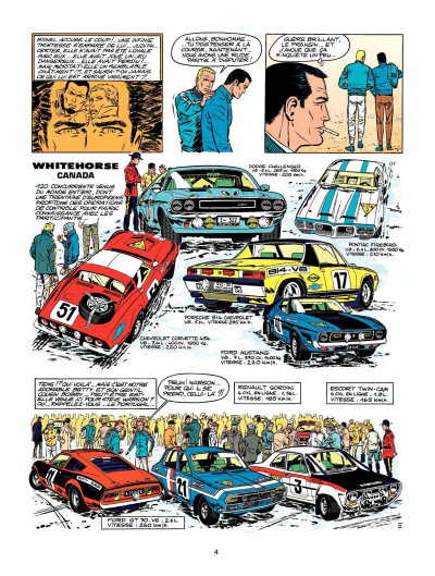 Page 2 Michel Vaillant tome 22 - rush