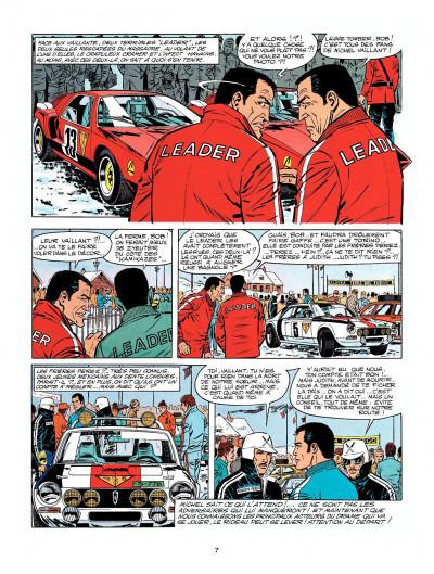 Page 5 Michel Vaillant tome 22 - rush