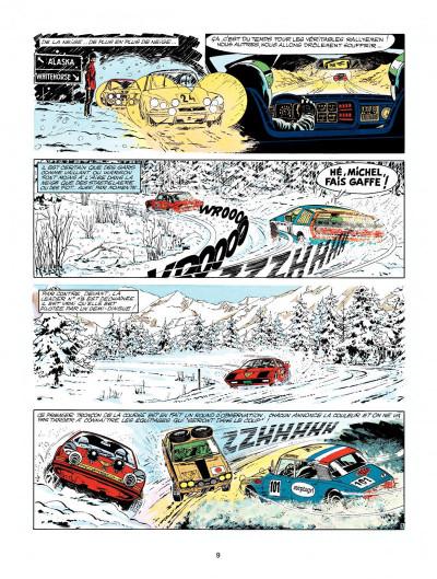 Page 7 Michel Vaillant tome 22 - rush
