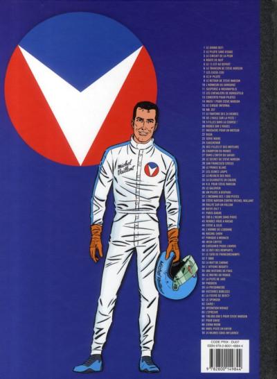 Dos Michel Vaillant tome 23 - série noire