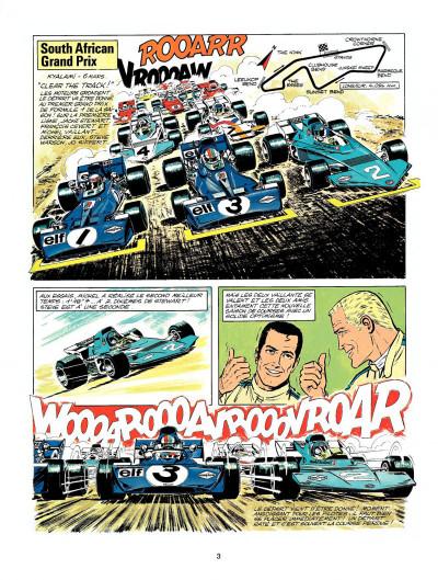 Page 1 Michel Vaillant tome 23 - série noire