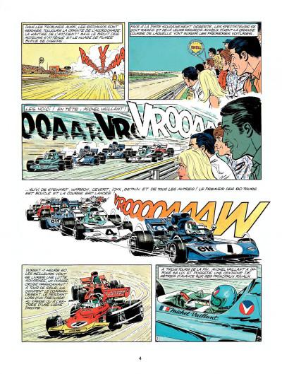 Page 2 Michel Vaillant tome 23 - série noire