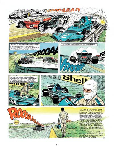 Page 4 Michel Vaillant tome 23 - série noire