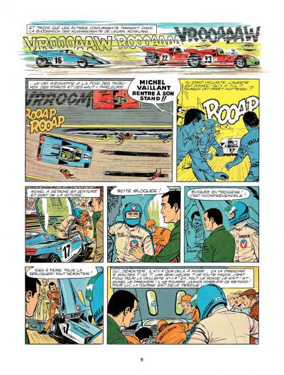 Page 7 Michel Vaillant tome 23 - série noire
