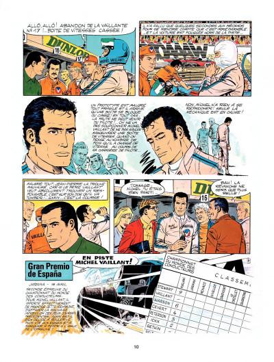Page 8 Michel Vaillant tome 23 - série noire