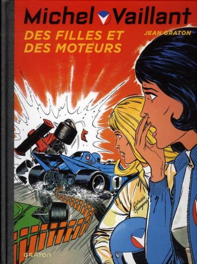 Couverture Michel Vaillant tome 25 - des filles et des moteurs