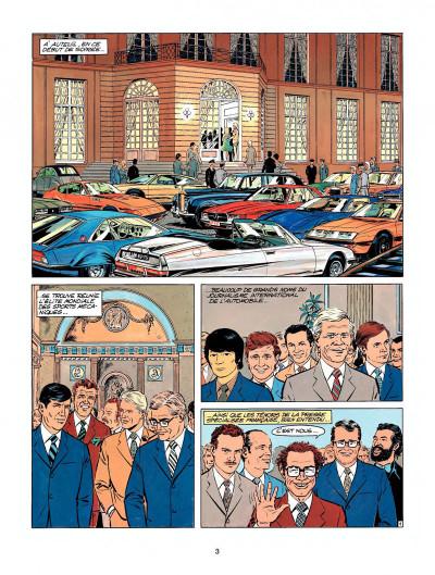 Page 1 Michel Vaillant tome 25 - des filles et des moteurs