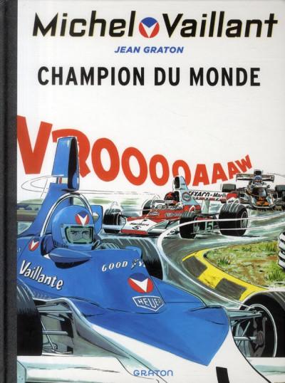Couverture Michel Vaillant tome 26 - champion du monde