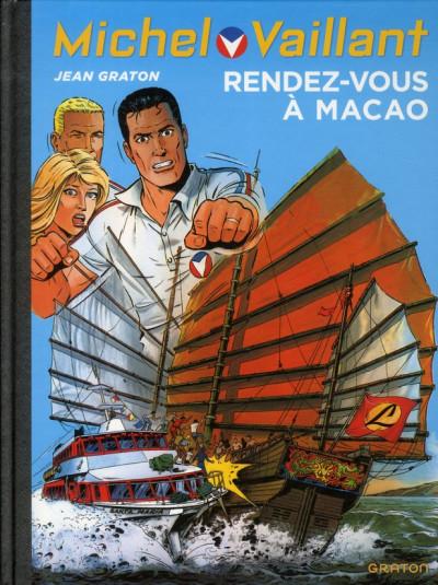 Couverture Michel Vaillant tome 43 - rendez-vous à Macao