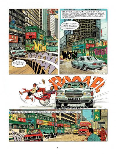 Page 4 Michel Vaillant tome 43 - rendez-vous à Macao